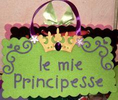 targa feltro principessa - Cerca con Google