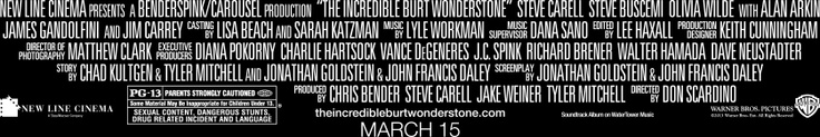 """The Incredible Burt Wonderstone"" opens this Friday, March 15 at Monaco."
