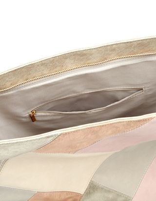 Patchwork Hobo Bag | Pink | Accessorize