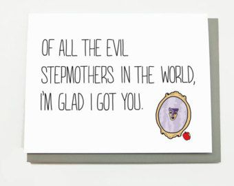 Funny Mother's Day Card for Stepmother - Of All the Evil Stepmothers in the World... Stepmom card