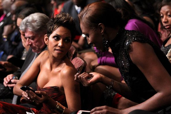 Halle Berry and Lisa Leslie attend BET Honors 2013 at Warner Theatre on January 12, 2013 in Washington, DC.