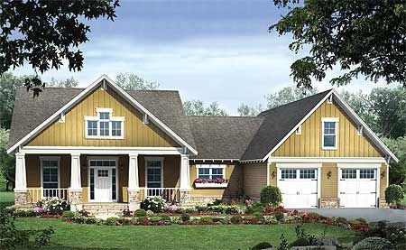 Craftsman Styling | 2108 sqft 3bd2.5ba | Basement steps turned into extra space above garage?