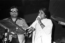 RDBurman and Asha Bhosle MI'81.JPG