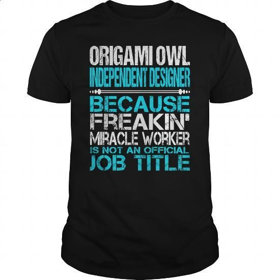 Awesome Tee For Origami Owl Independent Designer - #hoody #fleece hoodie. GET…