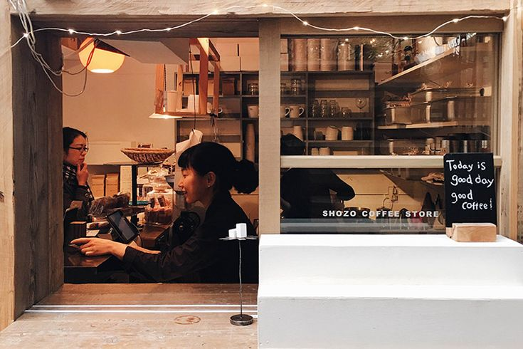 ชวนเดินเล่น แวะซื้อกาแฟจากร้านไซส์มินิแบบ to go ในโตเกียว