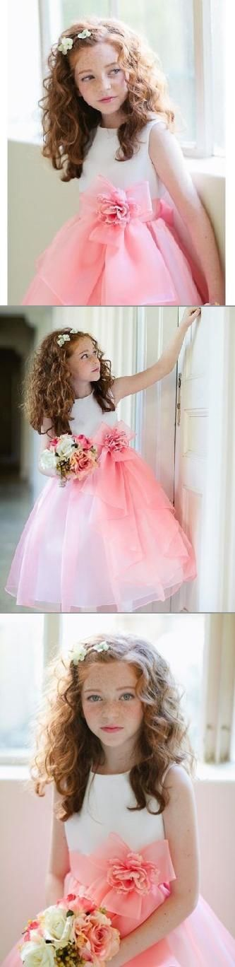 The right balance of color, cuteness, and lace for your flower-girl!