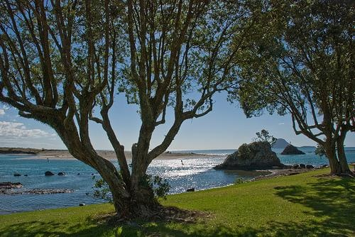 Bowentown Waihi Beach, New Zealand...
