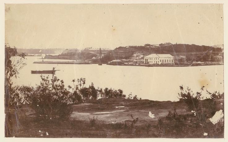 Cockatoo Is. Sydney Harbour undated, pre 1870.
