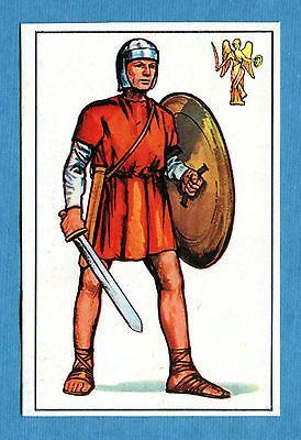 ARMI E SOLDATI - Edis 71 - Figurina-Sticker n. 52 - SOLD ROMANO DI 2° CLASSE-Rec