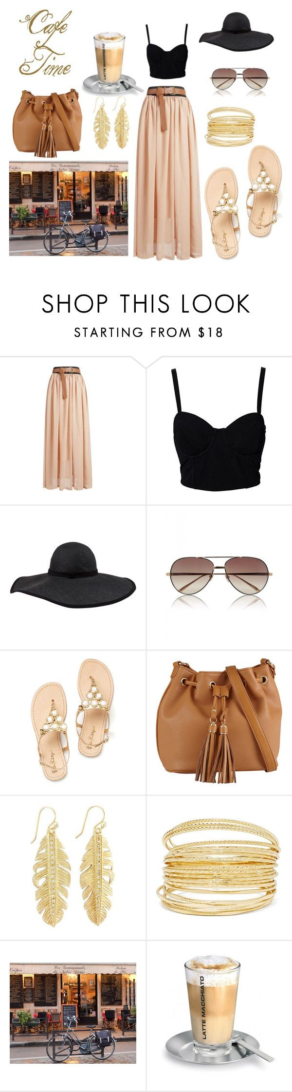 """Summer Cruise Outfit"" by stephanielowe ❤ liked on Polyvore featuring SELECTED, Frette, Linda Farrow and ALDO"