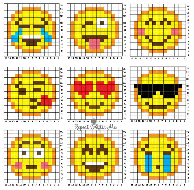 Are you or your kids Emoji-obssessed? It's hard not to love those cute little faces and icons that give your texts and social media posts a little pizzazz! I created 9 Emoji Crochet C2C (corner-to-corner) squares and stitched them together to make a fun Emoji Graphgan! A fairly simple project that you can easily add to. …