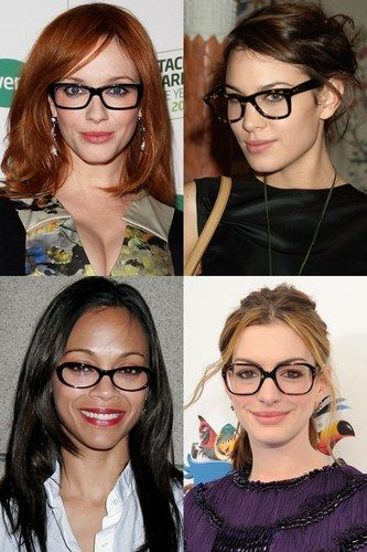 E chi dice che gli occhiali da vista non siano cool e sexi? Lasciati ispirare dalle montature delle #celebrities #accessori