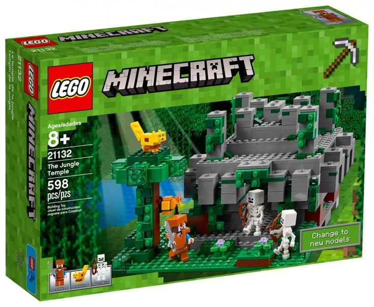 LEGO Minecraft 21132 : Le temple de la jungle