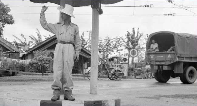 Indonesia's Traffic Police