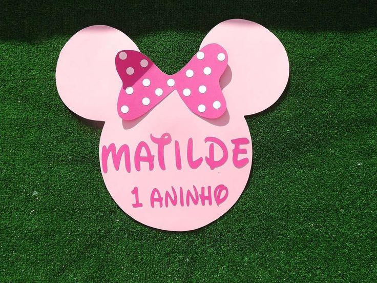 Minnie Mouse Pink Birthday Party Ideas | Photo 1 of 22
