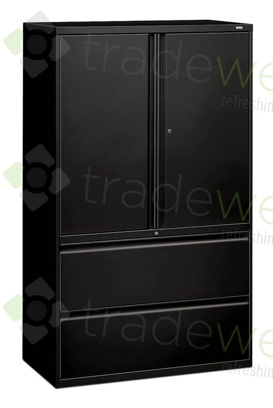 Lateral File Storage Cabinet Combo