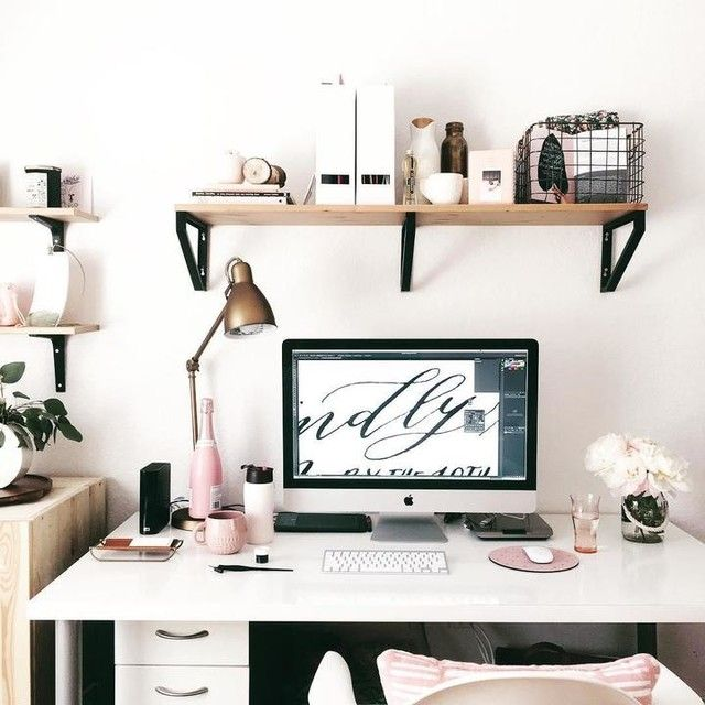 Cozy Home Office, Home Office Design