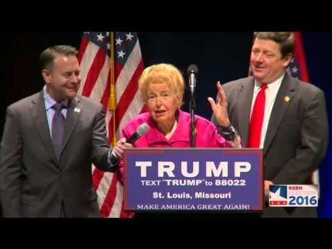 """Conservative Icon Phyllis Schlafly Endorses Candidate Donald Trump (video)…