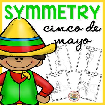 This Cinco de Mayo themed Symmetry worksheets include: • 2 x Maraca Symmetry Worksheets (with and without guides) • 2 x Sombrero Symmetry Worksheets (with and without guides) • 2 x Guitar Symmetry Worksheets (with and without guides) • 2 x Pinata Symmetry Worksheets (with and without guides) • High quality PDF format. FIND MORE SYMMETRY WORKSHEETS CLICK HERE FOR