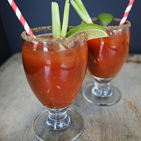Balsamic Bloody Mary, a recipe from the ATCO Blue Flame Kitchen.
