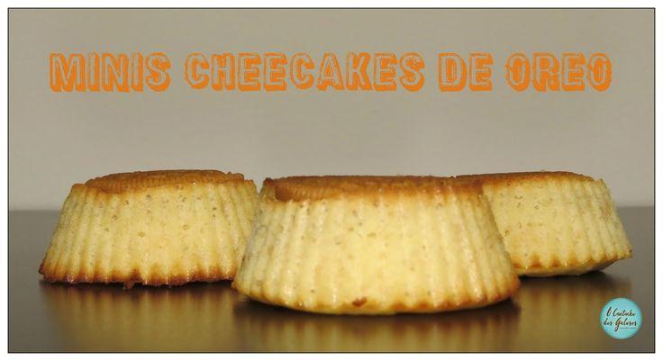 O Cantinho Dos Gulosos: Minis Cheesecakes de Oreo