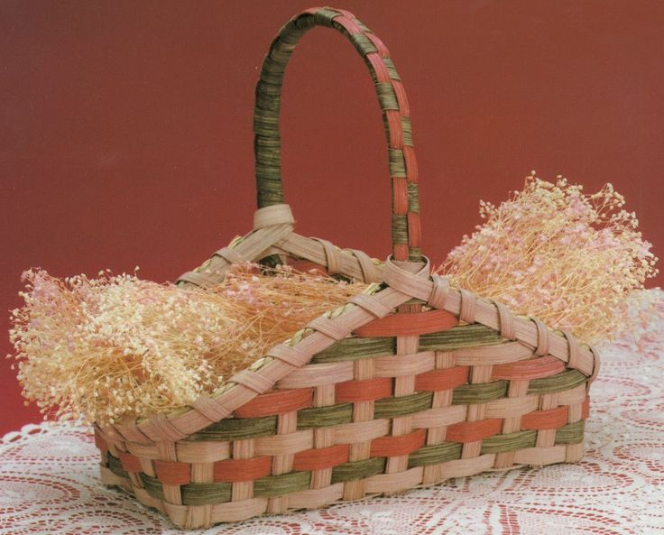 "Burgundy Hill Basket Kit-Hearth Basket 3.5""""X8.5""""X8"""""