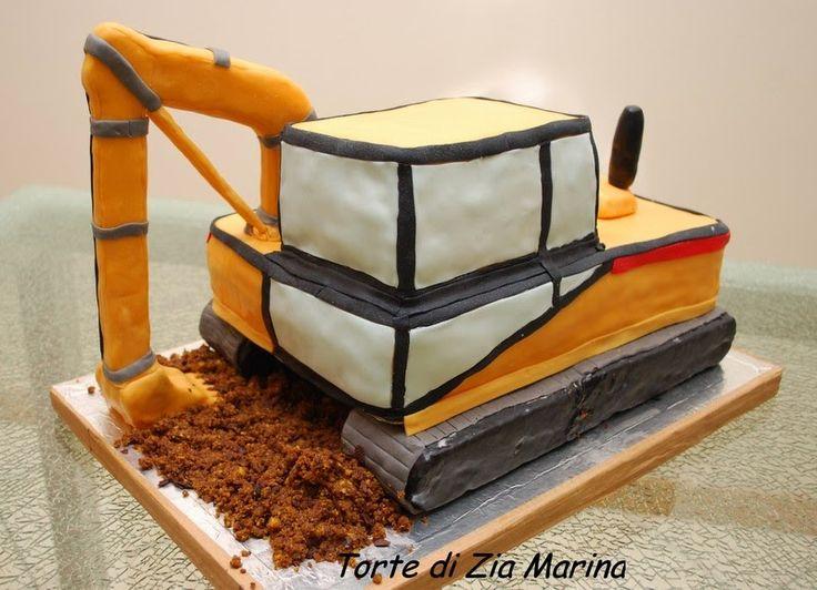Torte di zia Marina: Torta escavatore