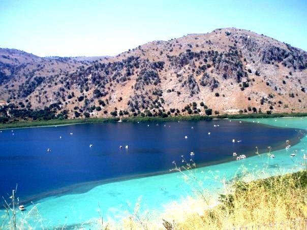 lake Kournas, Crete