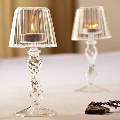 claro candlestick votiva do vintage candeeiro de mesa vidro castiçal de cristal único de 4523825 2016 por €11.46
