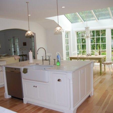kitchen island carts refinishing with sink and dishwasher | islands ...