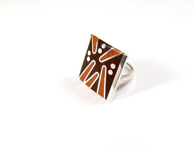 maldonadojoyas: :: Adjustable Rings - Geometric Design ::