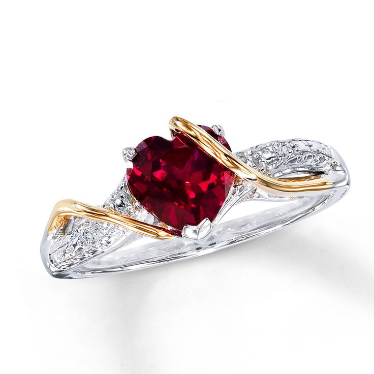 Expensive Diamond and Ruby Engagement Rings for Women