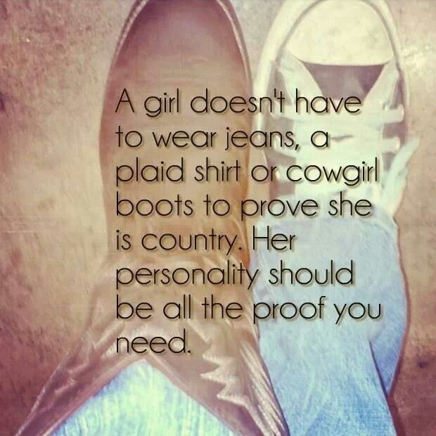 What Makes You A Country Girl
