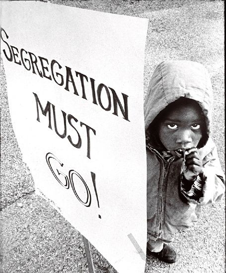 Segregation Protest Sign | Afrian American History ...