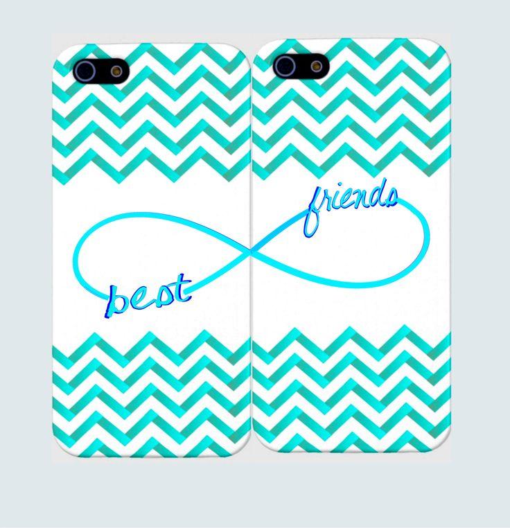 Best Friends Infinity Case- Best Friends Iphone Case-Personalized iPhone 5 Case. iPhone 4 Case - Two Case Set. $25.99, via Etsy.
