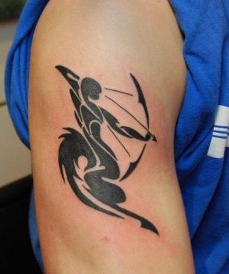 ber ideen zu sagittarius tattoo designs auf pinterest sch tze tattoos t towierungen. Black Bedroom Furniture Sets. Home Design Ideas