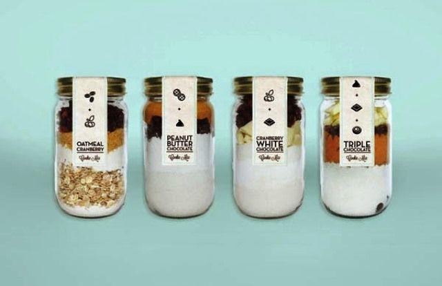 Desain Kreatif Kemasan Makanan - Milk & Honey Co. Branding oleh Emmy de Leon