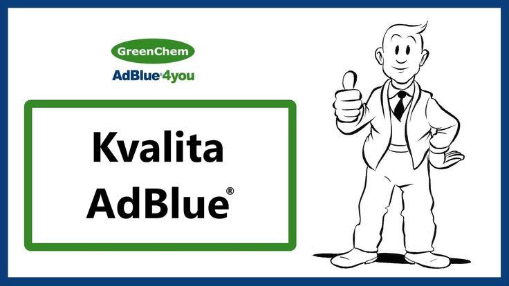 Kvalita AdBlue, ktorú Vám prináša GreenChem Slovakia