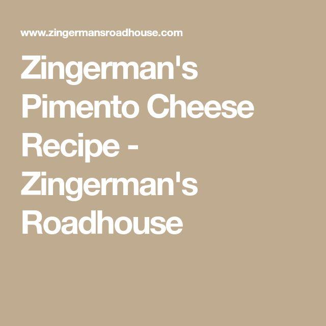Zingerman's Pimento Cheese Recipe - Zingerman's Roadhouse