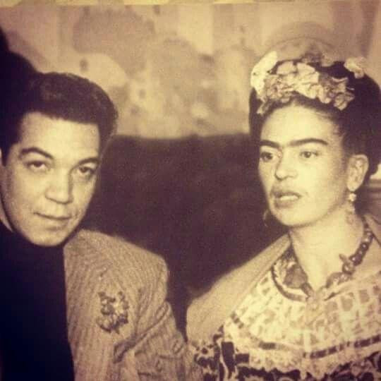 #Frida #kahlo #cantinflas