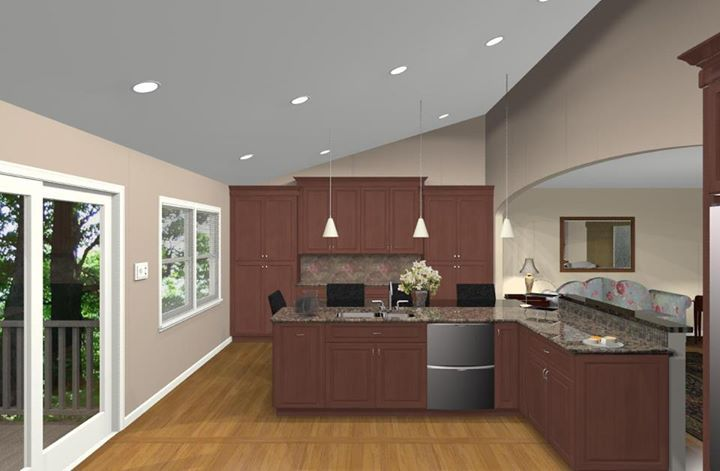 Kitchen remodeling design options for a bi level home Bi level house remodel