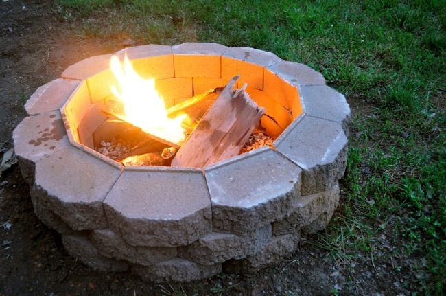 How To: Build a Basic Backyard Fire Pit