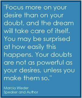 doubts and desires