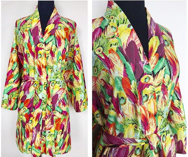 A personal favorite from my Etsy shop https://www.etsy.com/ca/listing/588301759/lightweight-cotton-kimono-robe-in-bright