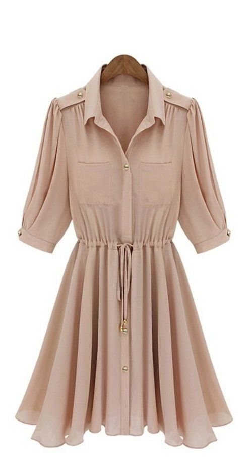 Maggie Shirt Dress- couldn't resist repinning