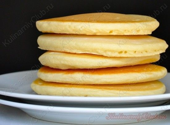 Панкейки Pancake ( американские блины) on http://kulinarniyclub.ru