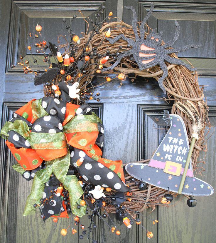 Fall Wreath Halloween Wreath 164 best Wreaths