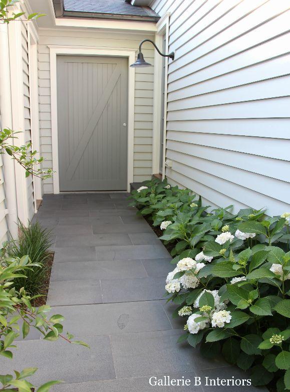 Hydrangeas are in bloom. Gallerie B Interiors
