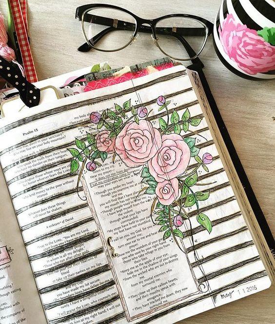 Bible Art Journaling                                                                                                                                                     More