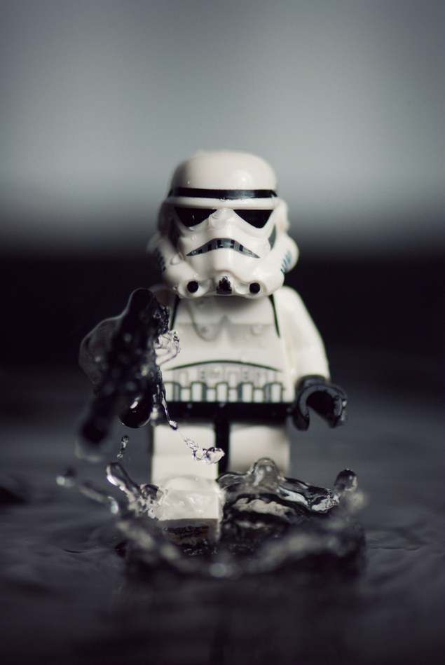 Lego Stormtroopers Photography